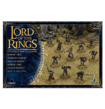 Games Workshop Warhammer The Lord Of The Rings Mordor Orcs 08-07